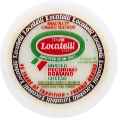 Anco Locatelli Grated Cheese, Pecorino Romano