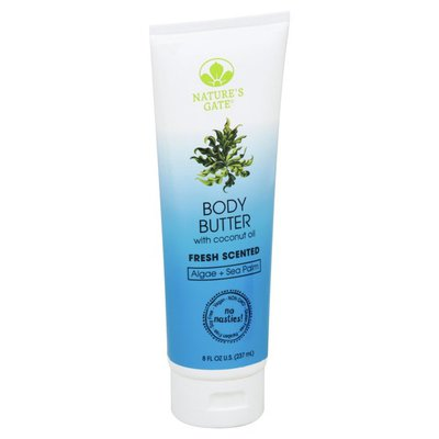 Nature's Path Body Butter, with Coconut Oil, Fresh Scented, Algae + Sea Palm