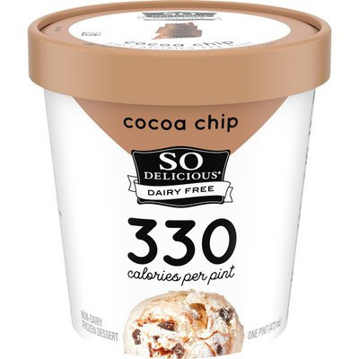 So Delicious Dairy Free Chocolate Chip Non Dairy Frozen Mousse