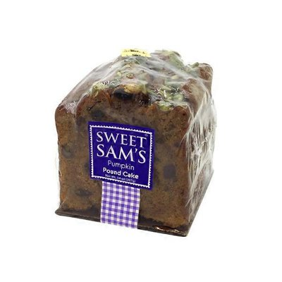 Sweet Sam's Pumpkin Pound Cake