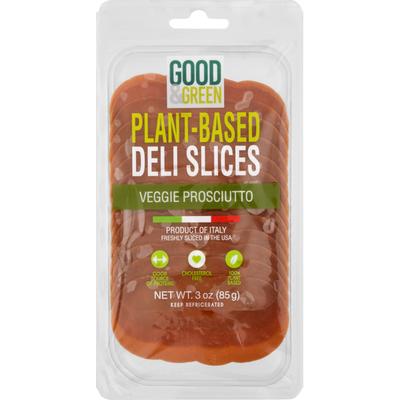 Good & Green Plant-Based Deli Slices Veggie Prosciutto