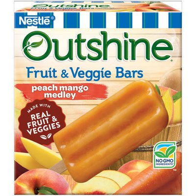 Outshine Peach Mango Medley Fruit & Veggie Bars