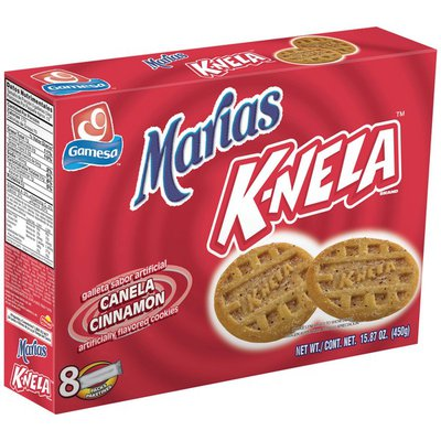 Gamesa Marias K-Nela Cinnamon Cookies