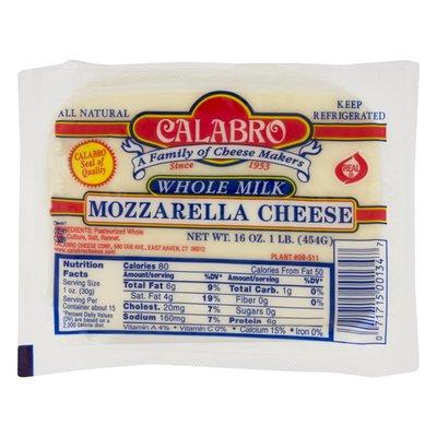 Calabro Mozzarella Cheese Whole Milk