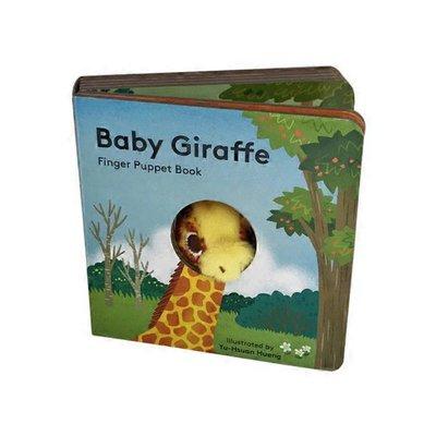 Chronicle Books Baby Giraffe Finger Puppet Book