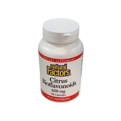 Natural Factors Citrus Bioflavonoids Dietary Supplement, 650 Mg