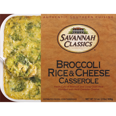 Savannah Classics Casserole, Broccoli Rice & Cheese