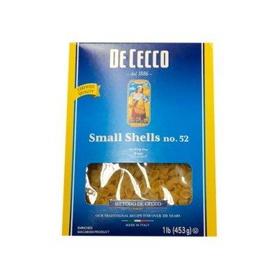 De Cecco Pasta, Small Shells No. 52, Box