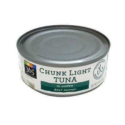 365 Chunk Light Tuna In Water