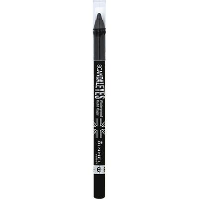 Rimmel Eye Liner, Waterproof, Black 001