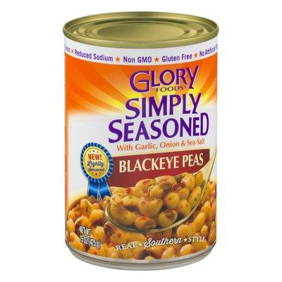 Glory Foods Simply Seasoned Blackeye Peas