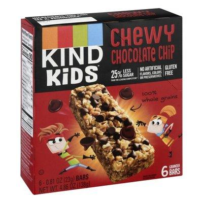 KIND Kids Granola Bars, Chewy, Chocolate Chip