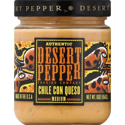 Desert Pepper Chile con Queso, Medium