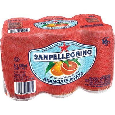 Sanpellegrino Blood Orange Italian Sparkling Drinks