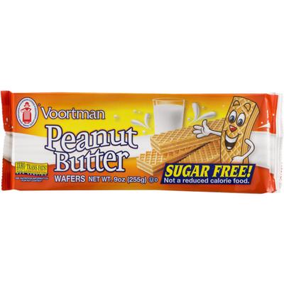 Voortman Peanut Butter Wafers Sugar Free