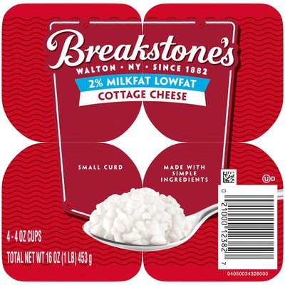 Breakstone'S Lowfat Small Curd Cottage Cheese with 2% Milkfat