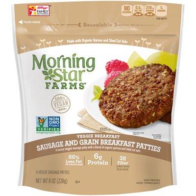 Morning Star Farms Sausage and Grain Breakfast Patties Veggie Sausage