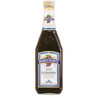 Manischewitz Elderberry Kosher Red Wine