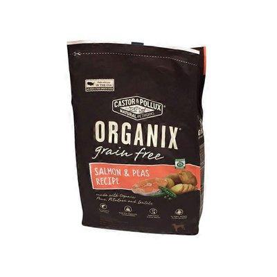 Castor & Pollux Organix Dog Food Grain Free Salmon And Peas Recipe