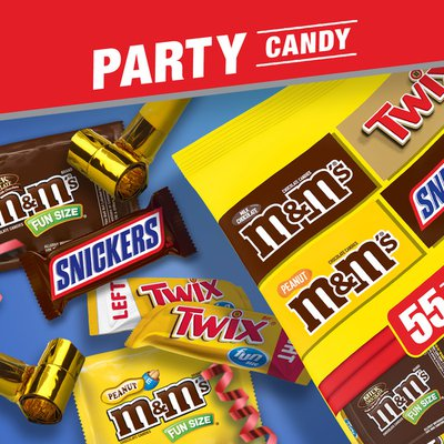 Snickers, M&m's & Twix Assorted Chocolate Halloween Candy Variety Pack