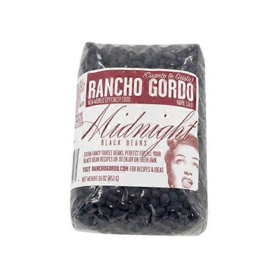 Rancho Gordo Midnight Black Beans