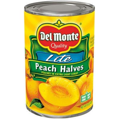 Del Monte Lite Halves Lite Peach Halves