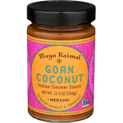 Maya Kaimal Indian Simmer Sauce, Medium, Goan Coconut