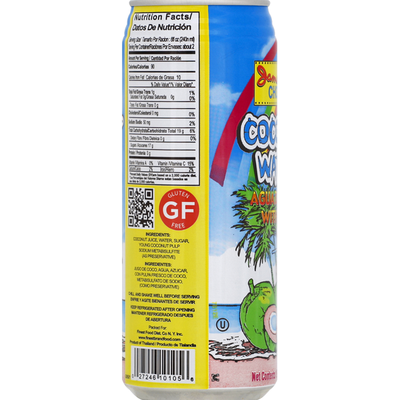 Jamaican Choice Coconut Water, with Pulp