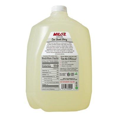 Milo's 100% Natural Lemonade