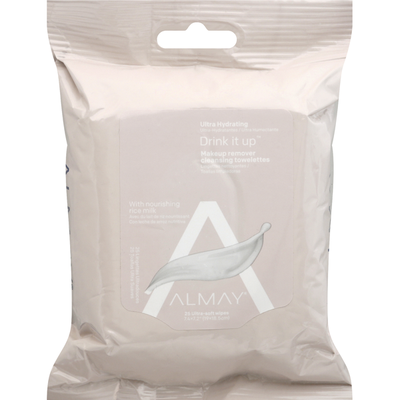Almay Cleansing Towelletes, Makeup Remover, Ultra Hydrating