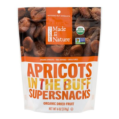 Made In Nature Dried Apricots, Organic, Unsulfured