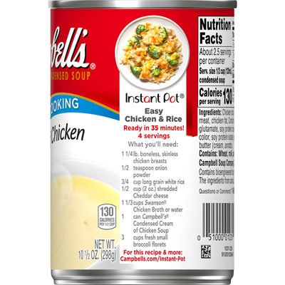 Campbell's® Cream of Chicken Soup