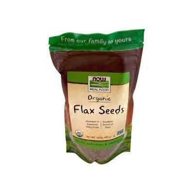 Now Real Food Organic Flax Seeds