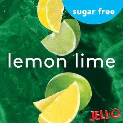 Jell-O Lemon-Lime Sugar Free Ready-to-Eat Jello Cups Gelatin Snack