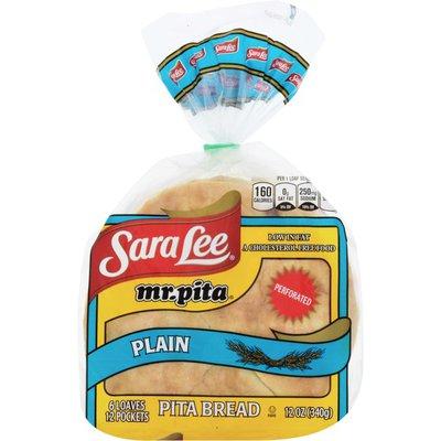 Sara Lee Mr. Pita Plain Pita Bread