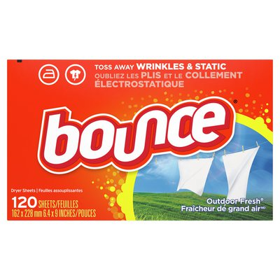 Bounce Outdoor Fresh Scented Fabric Softener Dryer Sheets