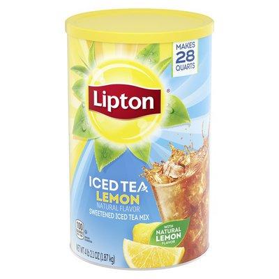 Lipton Iced Tea Mix Lemon