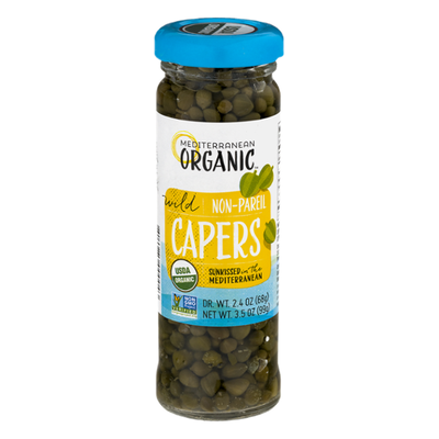 Mediterranean Organic Organic Wild Capers Non-Pareil