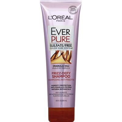 L'Oreal Shampoo, Frizz-Defy, Marula Oil