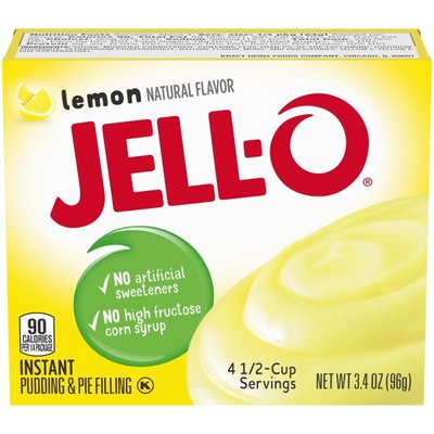 Jell-O Lemon Instant Pudding & Pie Filling Mix