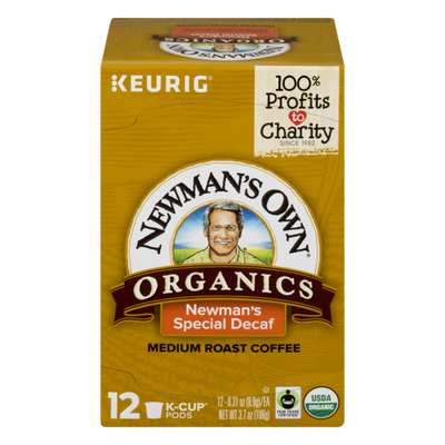 Newman's Own Organics. Newman's Special Decaf Extra Bold Medium Roast, K-Cups