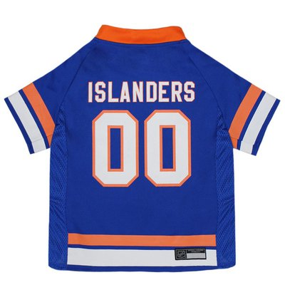 Pets First Medium NHL New York Islanders Jersey for Dogs & Cats