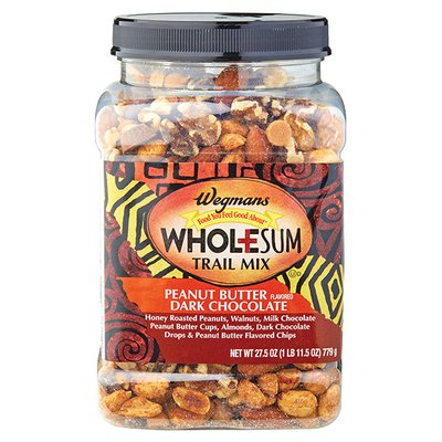 Wegmans Wholesum Peanut Butter Flavored Dark Chocolate Trail Mix