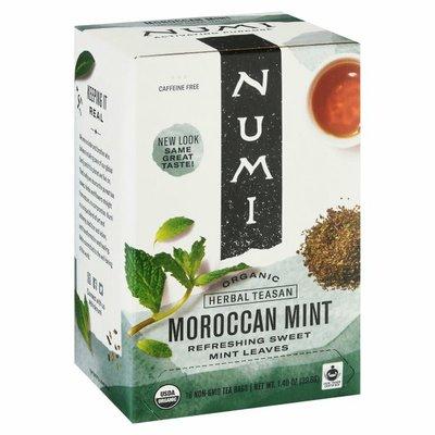 Numi Organic Tea Organic Caffeine Free Tea Bags Moroccan Mint