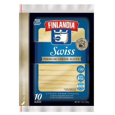Finlandia Swiss Premium Cheese Slices