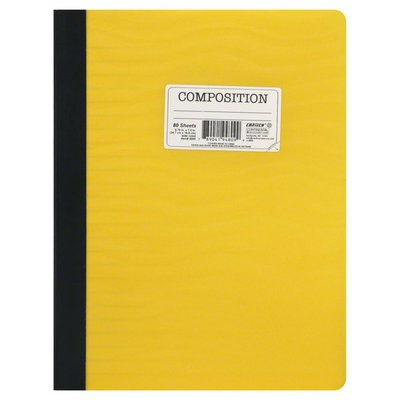 Continental Notebook, Wide Ruled