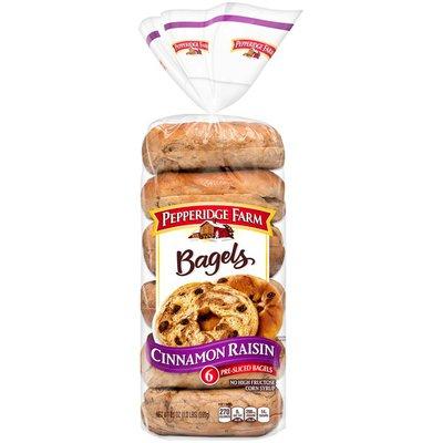 Pepperidge Farm® Cinnamon Raisin Bagels