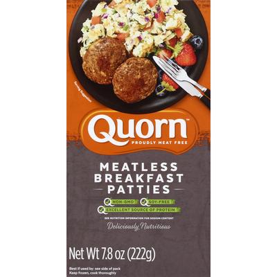 Quorn Patties, Breakfast, Meatless