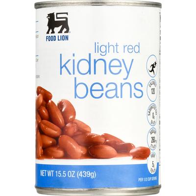 Food Lion Kidney Beans, Light Red