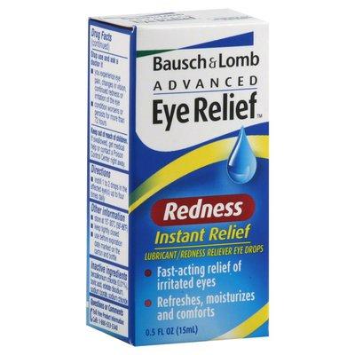 Bausch & Lomb Advanced Redness Eye Drops